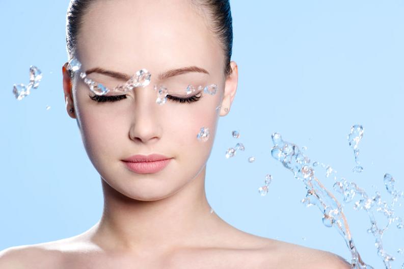 女人肤质状态测试